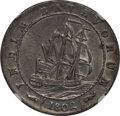 Netherlands East Indies, Netherlands East Indies: Batavian Republic Gulden 1802 AU53 NGC,...
