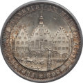 German States:Frankfurt am Main, German States: Frankfurt. Free City Taler 1863 MS65+ PCGS,...
