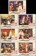 "Movie Posters:Adventure, The Crusades (Paramount, R-1948). Lobby Cards (7) (11"" X 14"").Adventure.. ... (Total: 7 Items)"