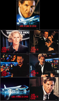 "Air Force One (Buena Vista International, 1997). International Lobby Cards (7) (11"" X 14""). Action. ... (Total..."