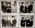 """Movie Posters:Mystery, Doomed to Die (Monogram, 1940). Photos (4) (8"""" X 10""""). Mystery..... (Total: 4 Items)"""