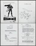Movie Posters:Science Fiction, The Adventures of Superman (Motion Pictures for Television, 1952).Limited Edition Photostat Television Script (40 Pages, 8....