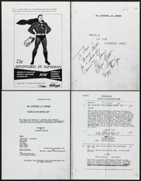 The Adventures of Superman (Motion Pictures for Television, 1952). Limited Edition Photostat Television Script (40 Pages...