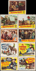 """Movie Posters:Western, Robin Hood of Texas & Others Lot (Republic, 1947). Title Lobby Cards (4) & Lobby Cards (13) (11"""" X 14""""). Western.. ... (Total: 17 Items)"""