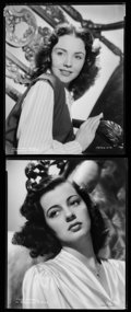 """Movie Posters:Miscellaneous, Gail Russell & Other Lot (Paramount, 1950s). Eastman KodakSafety Negatives (2) (8"""" X 9.75""""). Miscellaneous.. ... (Total: 2Items)"""