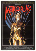 "Movie Posters:Science Fiction, Metropolis (Film 2, R-1984). Italian 2 - Fogli (39.25"" X 55.25""). Science Fiction.. ..."