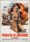 "Movie Posters:Exploitation, She Devils of the SS (Prestige Film, 1973). Italian 2 - Fogli(39.25"" X 55""). Exploitation.. ..."