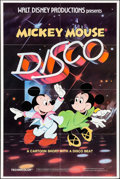 """Movie Posters:Animation, Mickey Mouse Disco & Others Lot (Buena Vista, 1980). One Sheets (5) and Autographed One Sheet (27"""" X 41""""), & Poster (30"""" X 4... (Total: 7 Items)"""