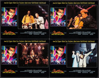 "Chuck Berry: Hail! Hail! Rock 'n' Roll (Universal, 1987). International Lobby Cards (4) (11"" X 14""). Rock and..."