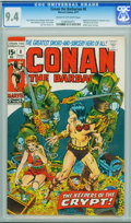 Bronze Age (1970-1979):Adventure, Conan the Barbarian #8 (Marvel, 1971) CGC NM 9.4 Cream to off-white pages.