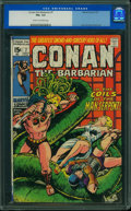 Bronze Age (1970-1979):Adventure, Conan the Barbarian #7 (Marvel, 1971) CGC FN+ 6.5 Cream to off-white pages.