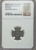 Ancients:Judaea, Ancients: JUDAEA. Roman Procurators. Pontius Pilate (AD 26-36). AEprutah. NGC ungraded....