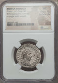 Ancients:Roman Provincial , Ancients: SYRIA. Antioch. Philip I (AD 244-249). BI tetradrachm(10.93 gm). NGC MS 5/5 - 4/5....