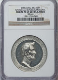 Medals and Tokens: , 1906 National Republican Convention Medal PR64 Ultra Cameo NGC. 38mm, White Metal, KING-453....