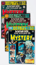 Bronze Age (1970-1979):Horror, House of Mystery #225-259 Group (DC, 1974-78) Condition: AverageFN/VF.... (Total: 35 Comic Books)
