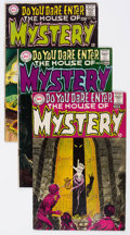 Silver Age (1956-1969):Horror, House of Mystery #174-224 Group (DC, 1968-74) Condition: AverageVG+.... (Total: 51 Comic Books)