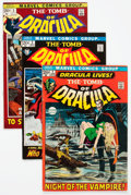 Bronze Age (1970-1979):Horror, Tomb of Dracula #1-4 Group (Marvel, 1972) Condition: Average FN....(Total: 4 Comic Books)