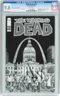 Modern Age (1980-Present):Horror, The Walking Dead #1 Wizard World St. Louis Sketch Edition (Image,2015) CGC NM/MT 9.8 White pages....