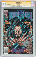 Modern Age (1980-Present):Miscellaneous, Undertaker #1 Silver Stamp Edition - Signature Series (Chaos! Comics, 1999) CGC NM- 9.2 White pages....
