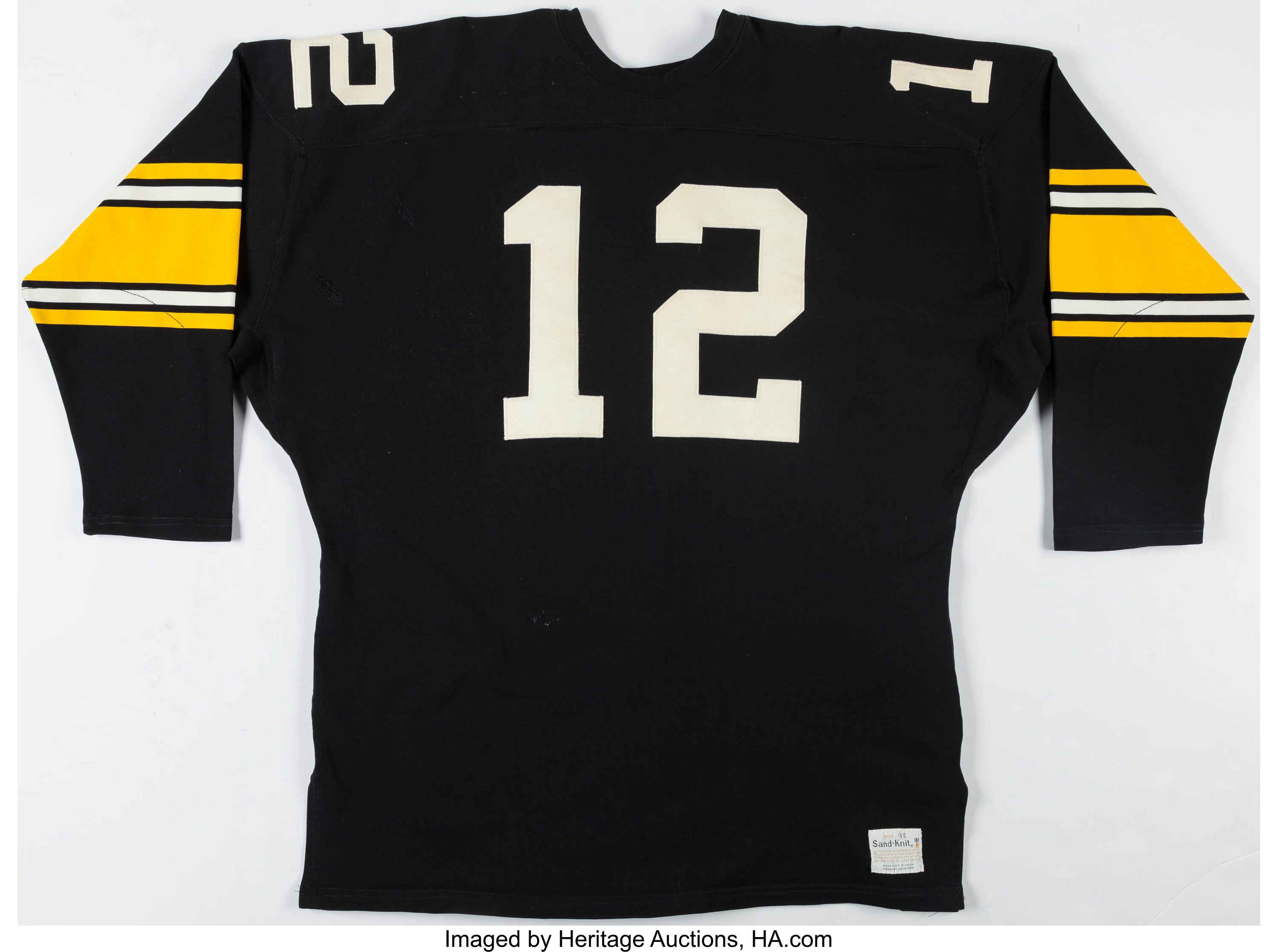 dea4c67417d 1970's Terry Bradshaw Vintage Pittsburgh Steelers Jersey. ...   Lot #44157    Heritage Auctions