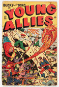 Golden Age (1938-1955):Superhero, Young Allies Comics #16 (Timely, 1945) Condition: GD-....