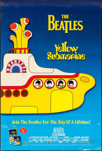 """Yellow Submarine (United Artists, R-1999). One Sheet (27"""" X 40"""") SS & Soundtrack Poster (18"""" X 24..."""