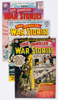 Silver Age (1956-1969):War, Star Spangled War Stories Group of 24 (DC, 1953-67) Condition: Average VG-.... (Total: 24 Comic Books)