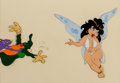 Animation Art:Production Cel, Wizards Avatar and Elinore Production Cel Setup (RalphBakshi, 1977)....