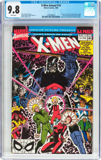 X-Men Annual #14 (Marvel, 1990) CGC NM/MT 9.8 White pages