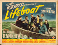 "Movie Posters:Hitchcock, Lifeboat (20th Century Fox, 1944). Half Sheet (22"" X 28"").. ..."