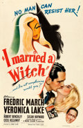 "Movie Posters:Fantasy, I Married a Witch (United Artists, 1942). One Sheet (27"" X 41"").. ..."