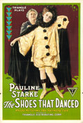 "Movie Posters:Drama, The Shoes That Danced (Triangle, 1918). One Sheet (28"" X 41"") JamesWilliam Farrah Artwork.. ..."