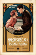 "Movie Posters:Drama, Rich Man, Poor Man (Paramount, 1918). One Sheet (28"" X 41"").. ..."
