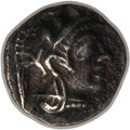 Ancients:Greek, Ancients: ATTICA. Athens. Ca. 454-404 BC. AR hemiobol (0.34 gm).NGC (photo certificate) XF 5/5 - 3/5....