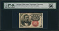 Fractional Currency:Fifth Issue, Fr. 1266 10¢ Fifth Issue PMG Gem Uncirculated 66.. ...
