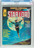 Magazines:Science-Fiction, Marvel Preview #4 Star-Lord (Marvel, 1976) CGC VF/NM 9.0 Off-white to white pages....