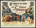 """Movie Posters:Fantasy, The 7th Voyage of Sinbad (Columbia, 1958). Title Lobby Card (11"""" X14""""). Fantasy. ..."""
