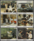 """Movie Posters:Crime, The Godfather (Paramount, 1972). Mini-Lobby Cards (6) (8"""" X 10"""").Crime. ... (Total: 6 Items)"""