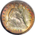 Seated Half Dimes, 1858 H10C MS67 NGC....