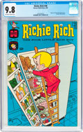 Silver Age (1956-1969):Humor, Richie Rich #46 (Harvey, 1966) CGC NM/MT 9.8 Off-white to white pages....