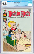Silver Age (1956-1969):Humor, Richie Rich #63 (Harvey, 1967) CGC NM/MT 9.8 Off-white to white pages....