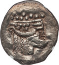 Ancients:Celtic, Ancients: DANUBE REGION. Imitating Thasos. Ca. 2nd-1st centuriesBC. AR tetradrachm. NGC XF....