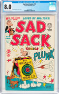 Golden Age (1938-1955):Humor, Sad Sack Comics #11 (Harvey, 1951) CGC VF 8.0 Light tan to off-white pages....