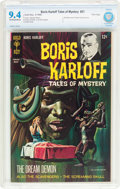 Silver Age (1956-1969):Horror, Boris Karloff Tales of Mystery #21 File Copy (Gold Key, 1968) CBCSNM 9.4 Off-white to white pages....