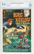 Silver Age (1956-1969):Horror, Boris Karloff Tales of Mystery #22 File Copy (Gold Key, 1968) CBCSNM 9.4 Off-white to white pages....