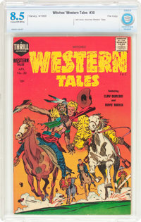 Witches' Western Tales #30 File Copy (Harvey, 1955) CBCS VF+ 8.5 Cream to off-white pages