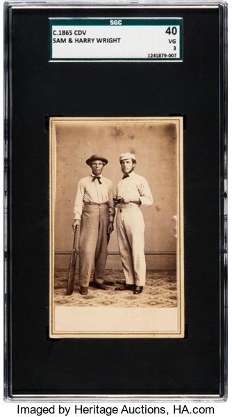 Baseball CardsSingles Pre 1930 Circa 1865 Sam Amp Harry