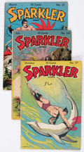Golden Age (1938-1955):Miscellaneous, Sparkler Comics Group of 7 (United Features Syndicate, 1943-48) Condition: Average VG.... (Total: 7 Comic Books)