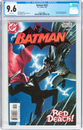 Modern Age (1980-Present):Superhero, Batman #635 (DC, 2005) CGC NM+ 9.6 White pages....