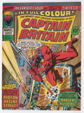 Magazines:Superhero, Captain Britain #8 (Marvel, 1976) Condition: VF+....